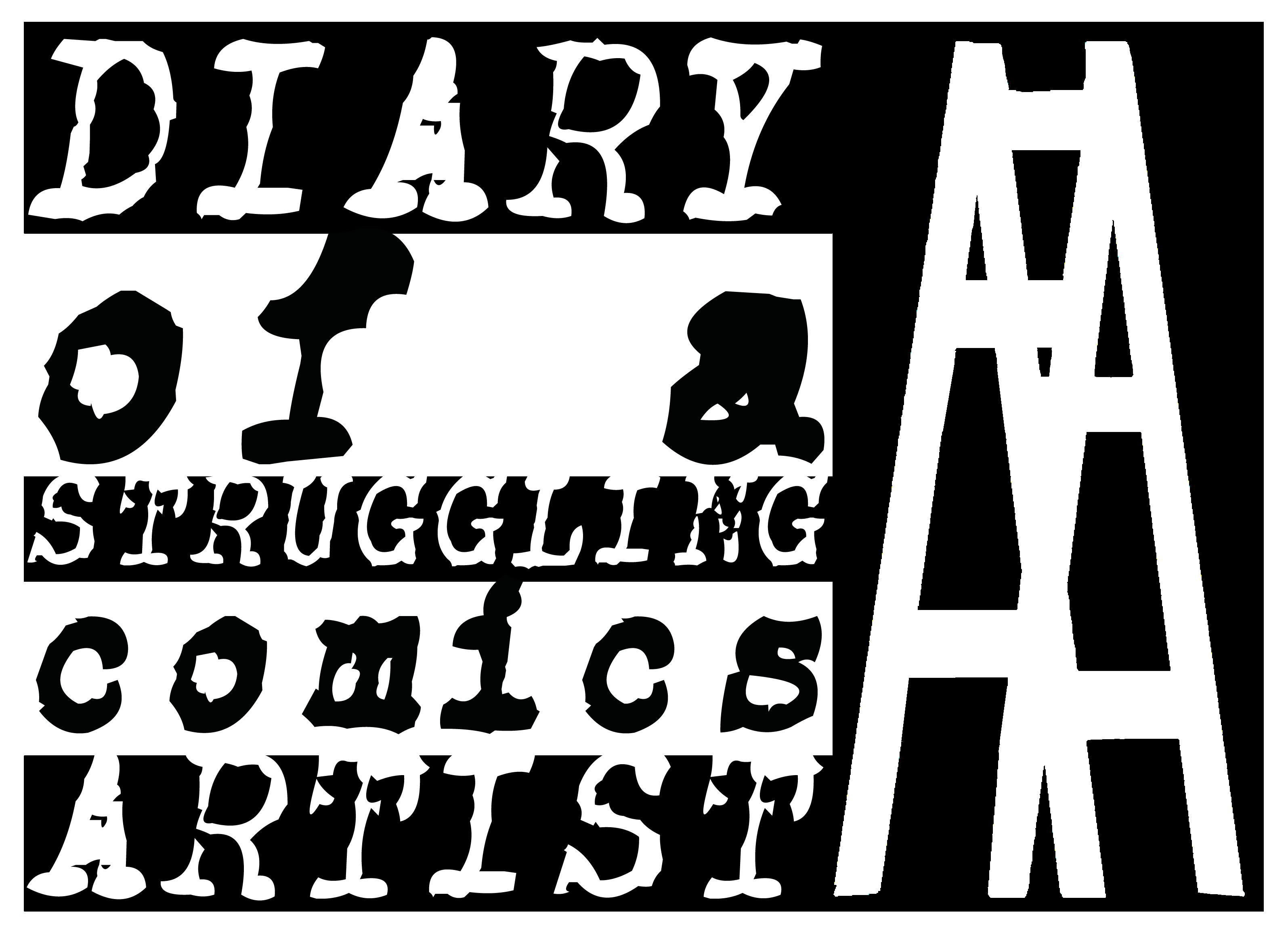diary of a struggling comics artist