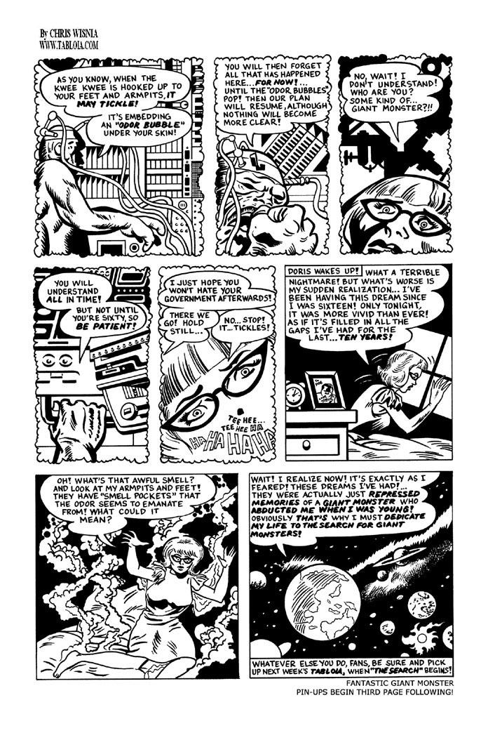 Doris Danger web-comic